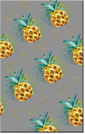 dekoracje z ananasami