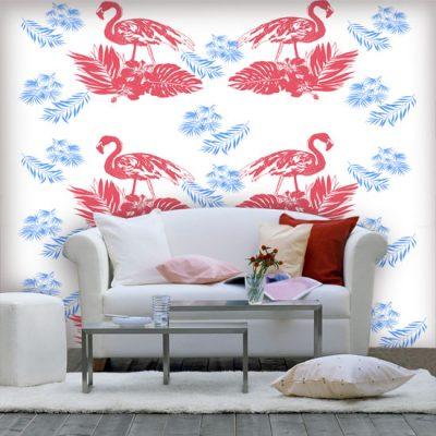 ozdoby z flamingami