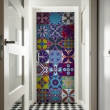 kolorowe kafelki marokańskie tapeta