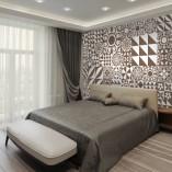 marokańskie kafelki – tapeta na ścianę