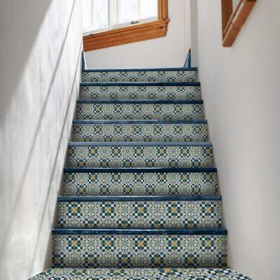 modne naklejki na schody