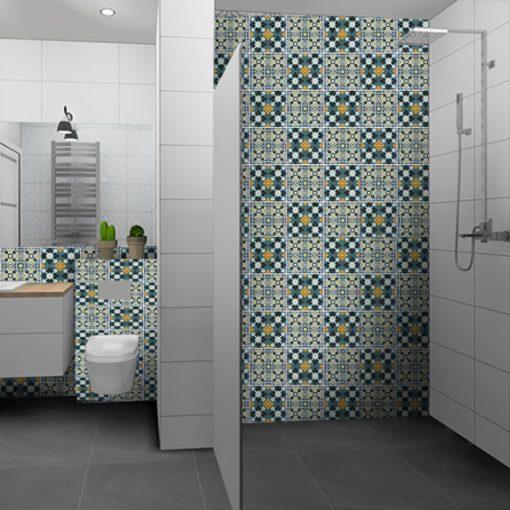 naklejki na ścianę - do łazienki
