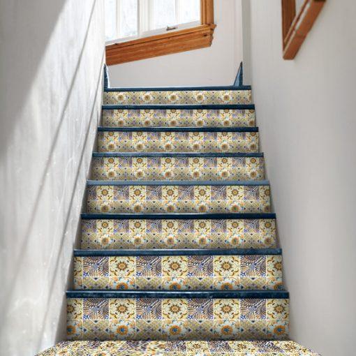 marokańskie naklejki - schody