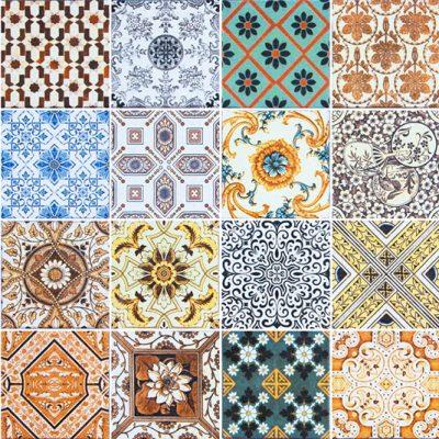 naklejki na ścianę marokańskie