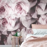 schabby chic – fototapeta do sypialni