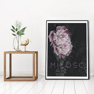 plakat romantyczny