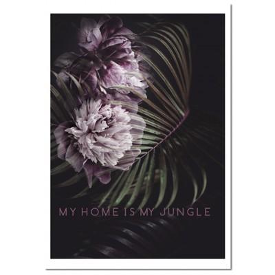 Plakat rośliny