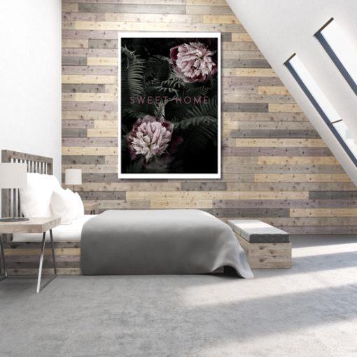 piękny plakat kwiaty