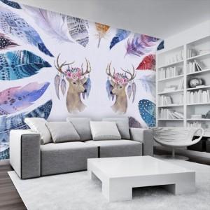 jak upiększyć ściany w skandynawskim salonie