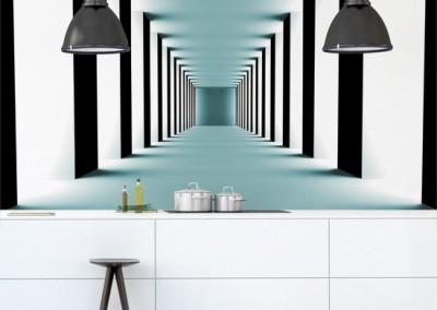 Jak optycznie powiększyć pokój tapetą