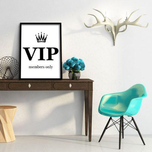 VIP na plakacie i members only