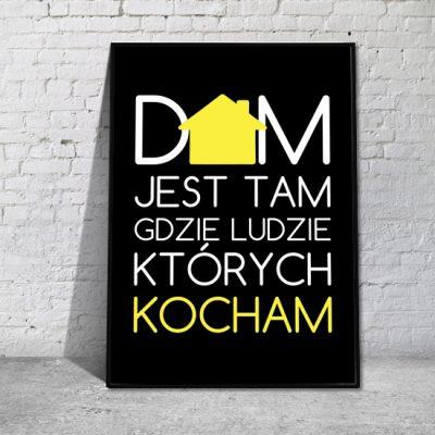 plakat z vbiałym,i i żółtymi napisami