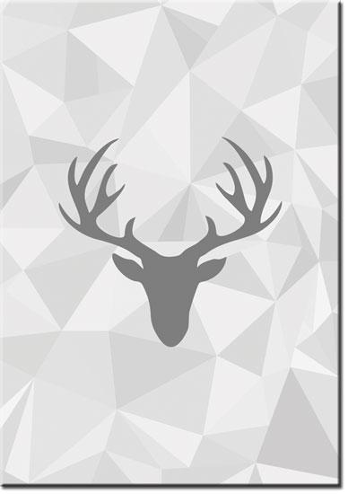ozdoby z jeleniem
