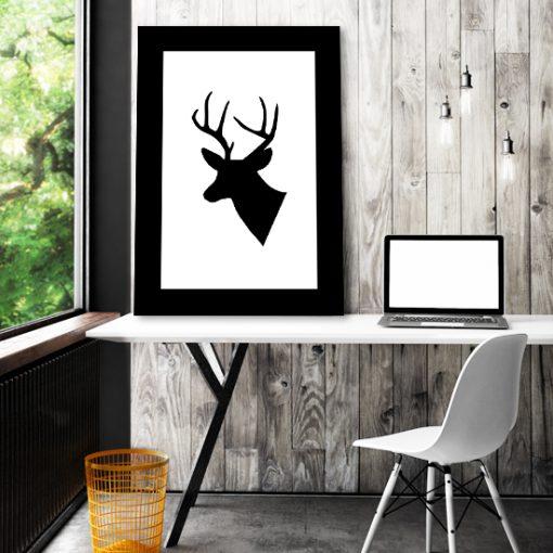 ozdoby z jeleniami