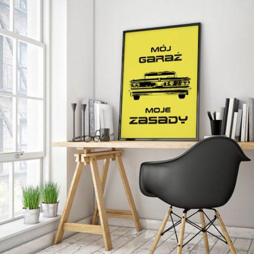 plakat z autkiem