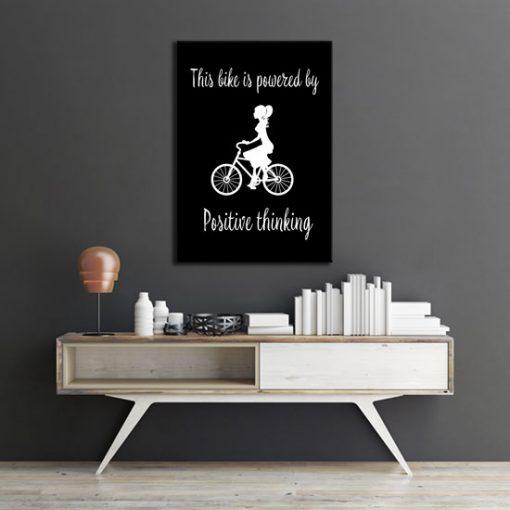 dekoracje z rowerami