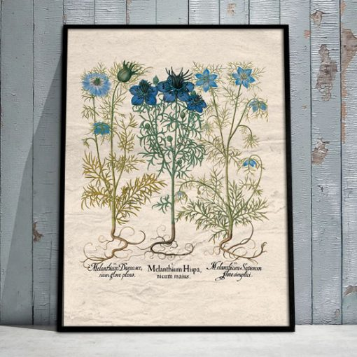 plakaty z kwiatuszkami
