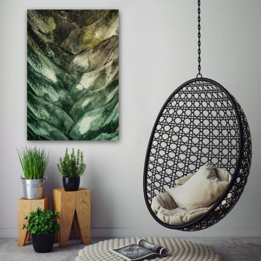 abstrakcja z motywem roślinnym
