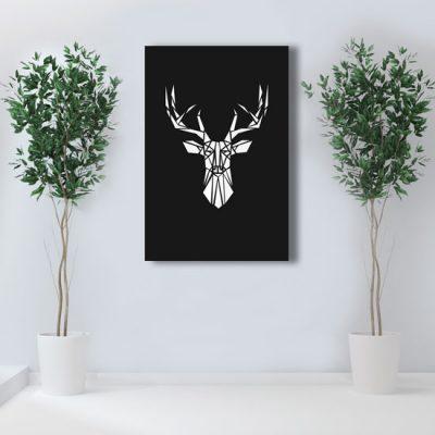ścienna dekoracja z jeleniem