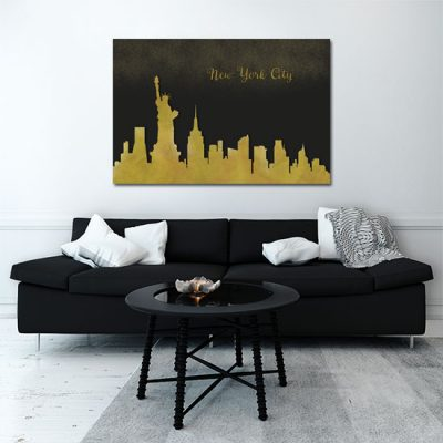 salonowy obraz Nowego Jorku