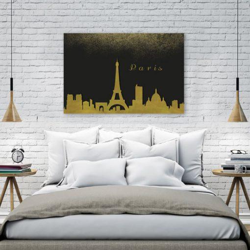 dekoracja z Paryżem - obraz