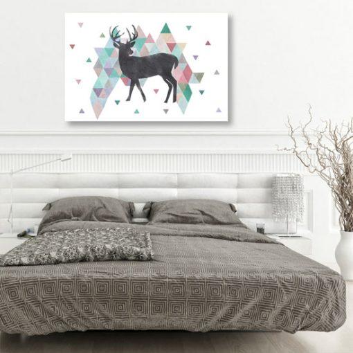 przykład obrazu w sypialni