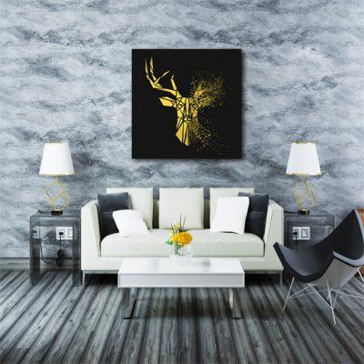 salonowa ozdoba z jeleniem