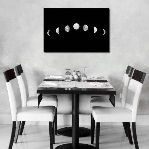 księzycowa symetria jako obraz