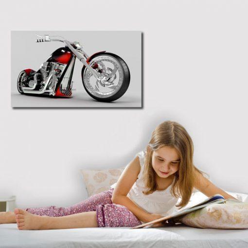 obrazek motoru czerwonego
