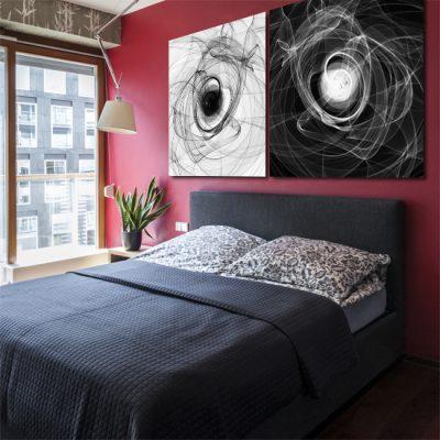 odbicie lustrzane do sypialni