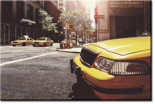 obraz żółtych taksówek
