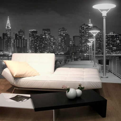modny salon i dzielnica NY jako fototapeta