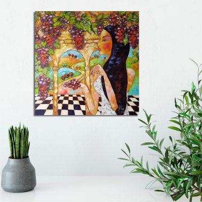 kolorowa dekoracja do pokoju