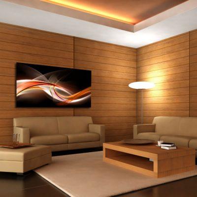 nowoczesny salonowy obrazek
