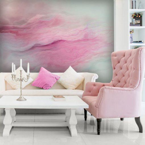 tapeta z różowym deseniem