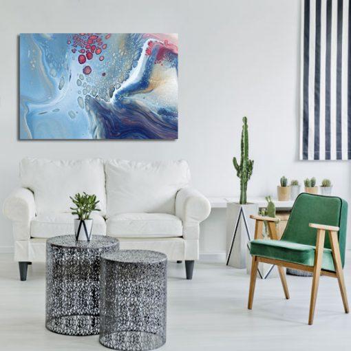 ścienny obraz 'kolorowa woda'