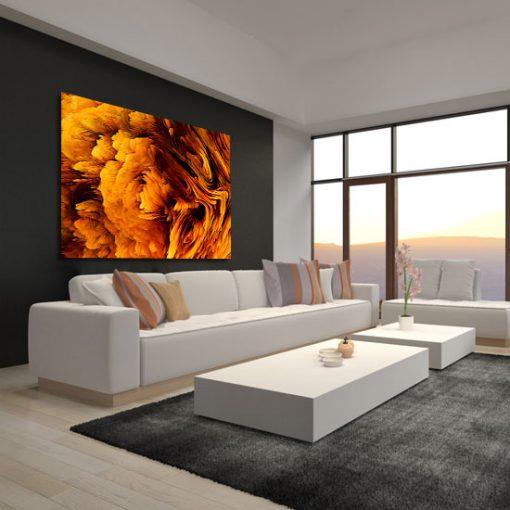 obraz w salonie abstrakcyjny