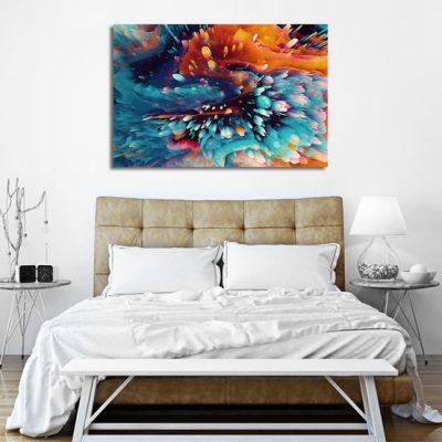 na ścianę abstrakcyjny obraz