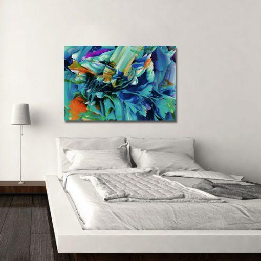 obraz do sypialni - kolorowy