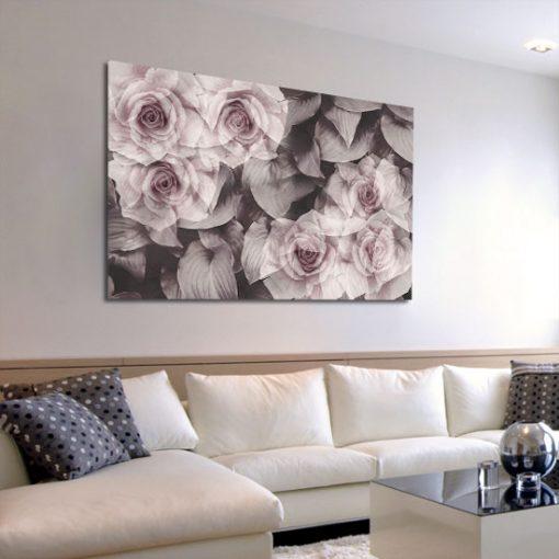 salonowa ozdoba z kwiatami