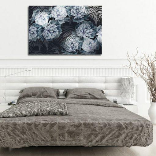 obrazek z kwiatami