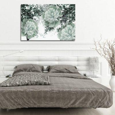 obrazek z kwiatami do sypialni