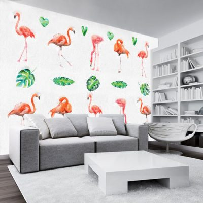 nowoczesne tapety do salonu