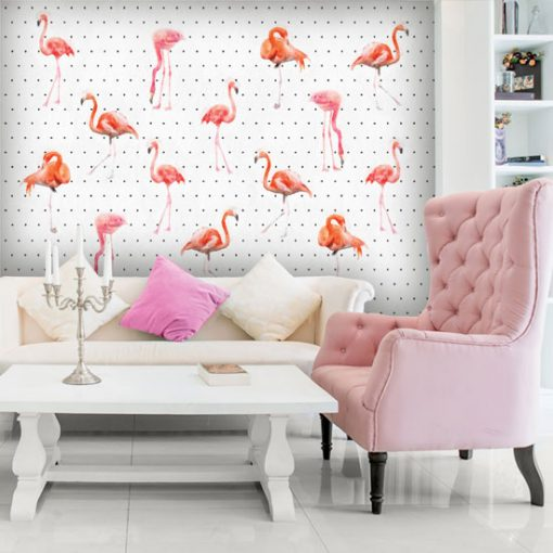 ozdoba ścian w salonie