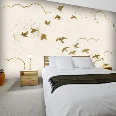 tapeta z motywem ptaków