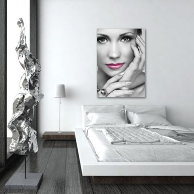 sypialniany plakat z kobietą