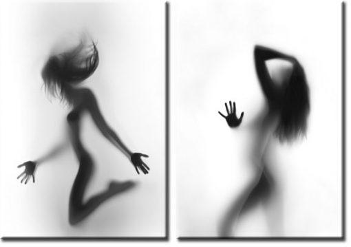 szare cienie kobiet