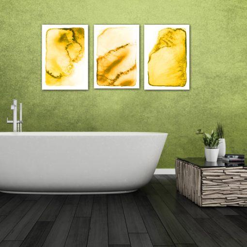łazienkowy tryptyk