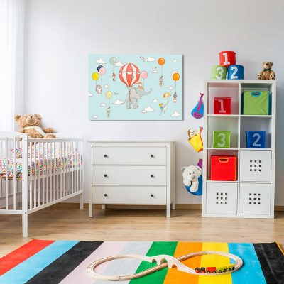 pokój dziecka i plakat