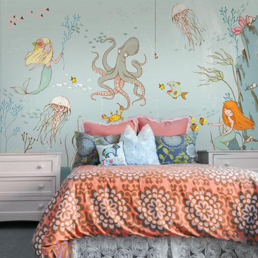 morskie zwierzęta na tapecie